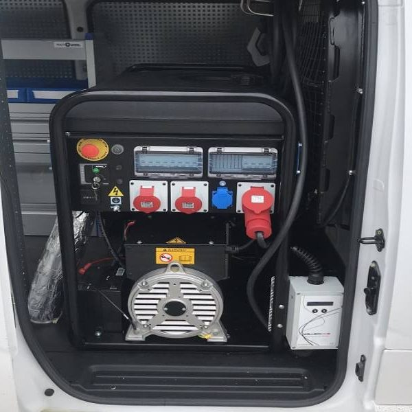 Compresor para furgoneta taller en Sevilla