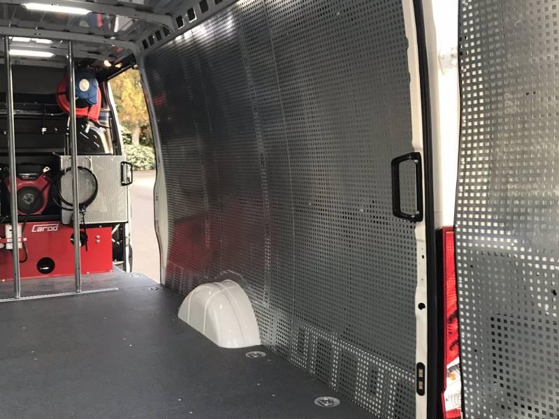 Estanterías de furgoneta en Sevilla