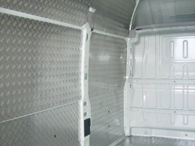 panel aluminio furgoneta