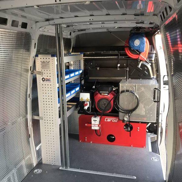 Compresor y generador para vehículo taller en Sevilla